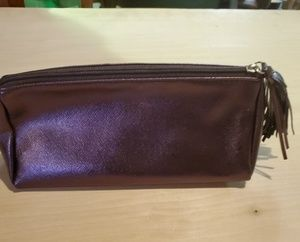 Purple medium sized makeup bag